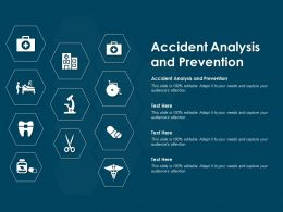 Accident Analysis And Prevention Ppt Powerpoint Presentation Infographic Template