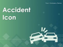 Accident Icon Collision Falling Damage Person Bicycle Electricity