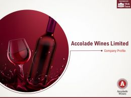 Accolade Wines Limited Company Profile Overview Financials And Statistics From 2014-2018