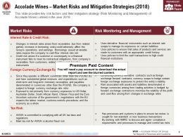 Accolade Wines Market Risks And Mitigation Strategies 2018