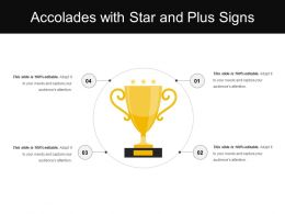 Accolades With Star And Plus Signs