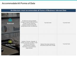 Accommodate All Forms Of Data Ppt Powerpoint Presentation File Deck