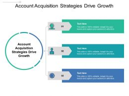 Account Acquisition Strategies Drive Growth Ppt Powerpoint Gallery Ideas Cpb