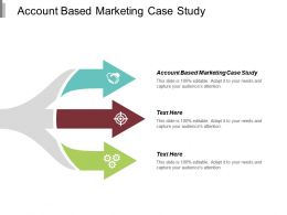 Account Based Marketing Case Study Ppt Powerpoint Presentation Portfolio Backgrounds Cpb