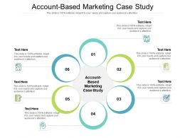 Account Based Marketing Case Study Ppt Powerpoint Presentation Slides Cpb