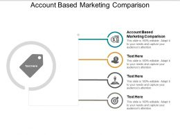 Account Based Marketing Comparison Ppt Powerpoint Presentation Layouts Clipart Images Cpb