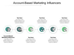 Account Based Marketing Influencers Ppt Powerpoint Presentation Layouts Layout Cpb