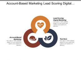 Account Based Marketing Lead Scoring Digital Marketing Custom Service Cpb