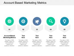 Account Based Marketing Metrics Ppt Powerpoint Presentation Professional Ideas Cpb