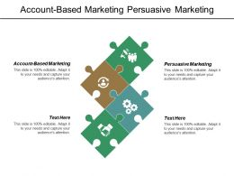 Account Based Marketing Persuasive Marketing Developing Content Marketing Strategy Cpb