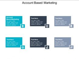 Account Based Marketing Ppt Powerpoint Presentation Diagram Graph Charts Cpb