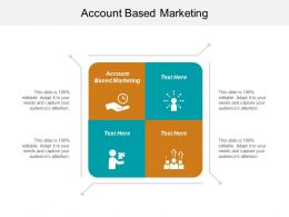 Account Based Marketing Ppt Powerpoint Presentation Ideas Clipart Images Cpb
