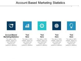 Account Based Marketing Statistics Ppt Powerpoint Presentation Portfolio Layouts Cpb