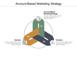Account Based Marketing Strategy Ppt Powerpoint Presentation Visual Aids Cpb