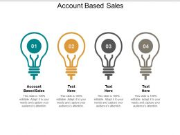 Account Based Sales Ppt Powerpoint Presentation Layouts Demonstration Cpb
