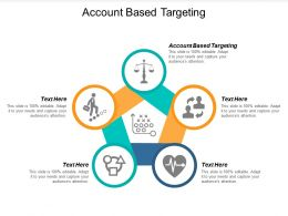 Account Based Targeting Ppt Powerpoint Presentation Outline Portrait Cpb