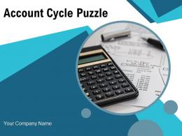 Account Cycle Puzzle Circular Process Financial Statements Source Document Analyse