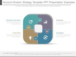 Account Division Strategy Template Ppt Presentation Examples