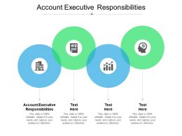 Account Executive Responsibilities Ppt Powerpoint Presentation Ideas Template Cpb