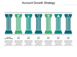 Account Growth Strategy Ppt Powerpoint Presentation Infographic Template Demonstration Cpb