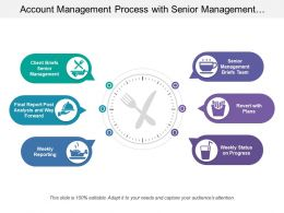 Account Management Process With Senior Management Weekly Status