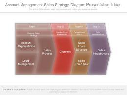 Account Management Sales Strategy Diagram Presentation Ideas
