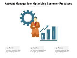 Account Manager Icon Optimizing Customer Processes