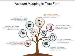 Account Mapping In Tree Form Sample Of Ppt Presentation