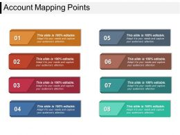 Account Mapping Points Sample Ppt Presentation