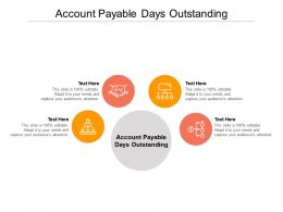 Account Payable Days Outstanding Ppt Powerpoint Presentation Inspiration Slide Download Cpb