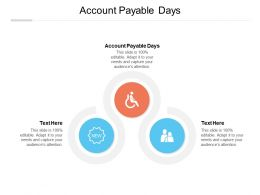 Account Payable Days Ppt Powerpoint Presentation Ideas Elements Cpb
