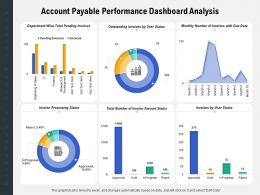 Account Payable Performance Dashboard Analysis