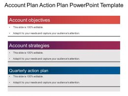 Account Plan Action Plan Powerpoint Template