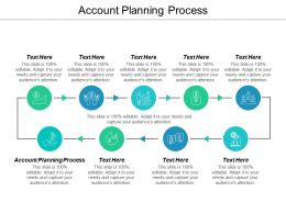 Account Planning Process Ppt Powerpoint Presentation Inspiration Examples Cpb