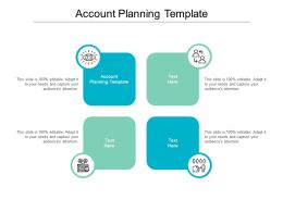 Account Planning Template Ppt Powerpoint Presentation Infographics Mockup Cpb