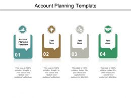 Account Planning Template Ppt Powerpoint Presentation Visuals Cpb