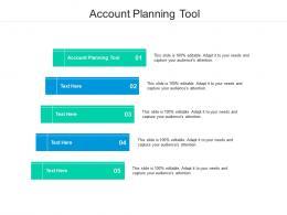 Account Planning Tool Ppt Powerpoint Presentation Model Skills Cpb