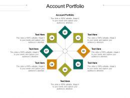 Account Portfolio Ppt Powerpoint Presentation Model Visual Aids Cpb
