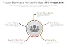 Account Receivable File Order Details Ppt Presentation