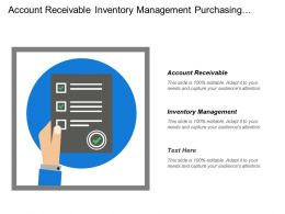 Account Receivable Inventory Management Purchasing Analysis Inventory Analysis