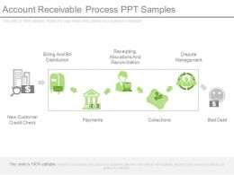 Account Receivable Process Ppt Samples