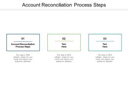 Account Reconciliation Process Steps Ppt Powerpoint Presentation Show Slide Portrait Cpb