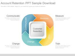 account_retention_ppt_sample_download_Slide01