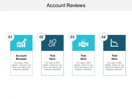 Account Reviews Ppt Powerpoint Presentation Diagram Lists Cpb