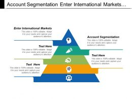 Account Segmentation Enter International Markets Wellness Programs Optimization