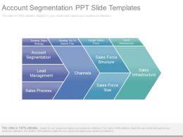 Account Segmentation Ppt Slide Templates