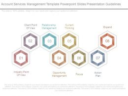 Account Services Management Template Powerpoint Slides Presentation Guidelines