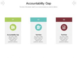 Accountability Gap Ppt Powerpoint Presentation Outline Background Images Cpb