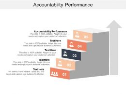 Accountability Performance Ppt Powerpoint Presentation Diagram Graph Charts Cpb