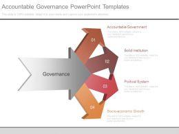 Accountable Governance Powerpoint Templates